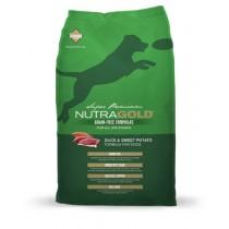 NutraGold Dog Grain Free Duck & Sweet Potato Formula' - 13.6kg
