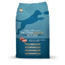 NutraGold Dog Grain Free Whitefish & Sweet Potato Formula - 2.25kg