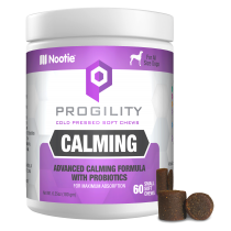 Progility Calming With Probiotics – 60 Small Soft Chews