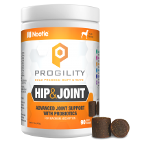 Progility Hip & Joint With Probiotics – 90 Soft Chews