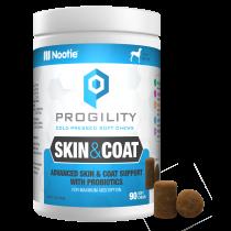 Progility Skin & Coat With Probiotics – 90 Soft Chews