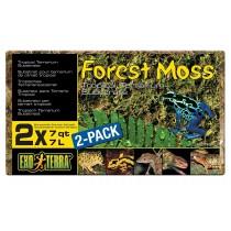 EXO TERRA FOREST MOSS - 2 x 7L/7QT