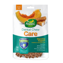 "Happi Doggy Dental Chew Care Digestive Support With Pumpkin & Mountain Yam - Petite 2.5"" 150g"