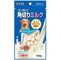 Sunrise Cube Shaped Milk For Dog 100g