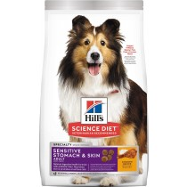 Science Diet Canine Adult Sensitive Stomach & Skin Chicken Recipe - 2kg & 30lbs