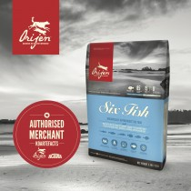 Orijen Cat Six Fish - 5.4kg