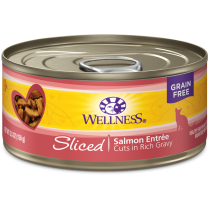 Wellness Cat Canned Complete Health™ Sliced Salmon Entree 5.5oz