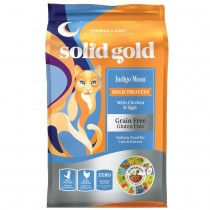 Solid Gold Cat GF Indigo Moon with Chicken & Egg 12lbs