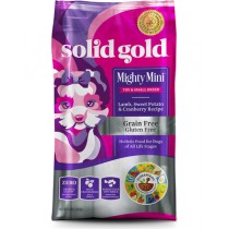 Solid Gold Dog Mighty Mini - Lamb, Sweet Potato and Cranberry Recipe 4lbs