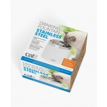 Catit Cat Stainless Steel Drinking Fountain - 2 L (50023)