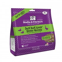 Stella & Chewy Cat Freeze Dried Dinner Morsels Duck Duck Goose - Available in 9oz & 18oz