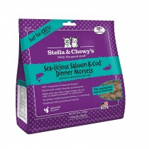 Stella & Chewy Cat Freeze Dried Dinner Morsels Sea-Licious Salmon & Cod 9oz