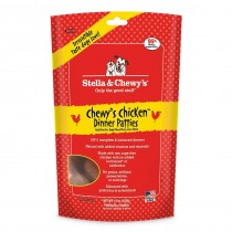Stella & Chewy's Dog Freeze Dried Dinner Patties Chewy's Chicken - Available in 14oz & 25oz
