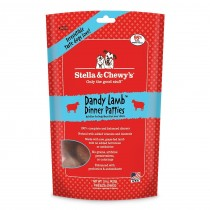 Stella & Chewy's Dog Freeze Dried Dinner Patties Dandy Lamb 14oz