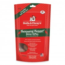 Stella & Chewy's Dog Freeze Dried Dinner Patties Phenomenal Pheasant 15oz