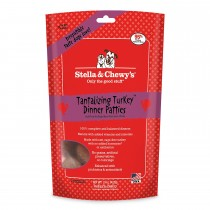 Stella & Chewy's Dog Freeze Dried Dinner Patties Tantalizing Turkey 15oz