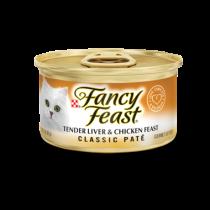 Fancy Feast Classic Tender Liver & Chicken Feast 85g