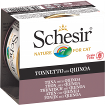 Schesir Cat Canned Jelly Tuna with Quinoa 85g