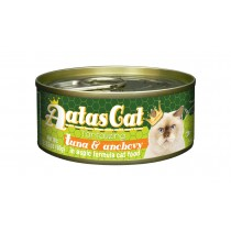 Aatas Cat Canned Tantalizing Tuna & Anchovy in Aspic 80g