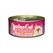 Aatas Cat Canned Tantalizing Tuna & Shrimp in Aspic 80g