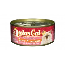 Aatas Cat Canned Tantalizing Tuna & Surimi in Aspic 80g