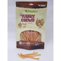 A Freschi srl Chews - Turkey Breast Stripe with Calcium 115g