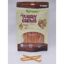 A Freschi srl Chews - Turkey Breast Stripe with Cheese 115g