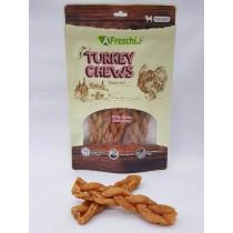A Freschi srl Chews - Turkey Tendon Braided Stick (6pcs) 130g