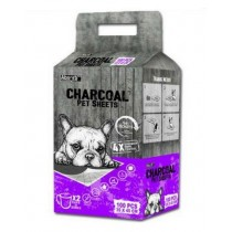 Absorb Charcoal Plus Pet Sheets 35 x 45cm - 100pcs