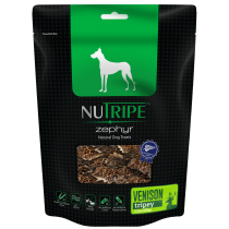 Nutripe Zephyr Venison Tripey Dog Treats 100g