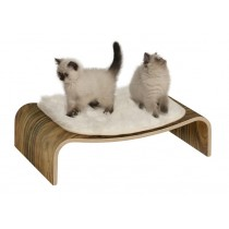 Vesper Cat Furniture V-Lounge - Walnut colour