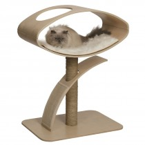 Vesper Cat Furniture V-High Lounge 70x50x96cm - Available in Walnut & Poplar colour