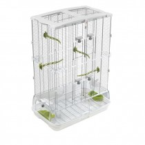 Vision Bird Cage for small birds (M02) - Double Height , Small Wire