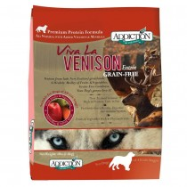 Addiction Dog Viva La Venison 20lbs