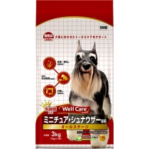 Well Care Mini Schnauzer All Stages - 3kg