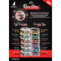 ABSOLUTE HOLISTIC RAW STEW FOR DOGS & CATS 80G - Buy 24 for $67.20