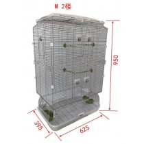 Lilliphut Bird Cage for small birds (M2)