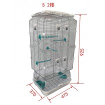 Lilliphut Bird Cage for small birds (S2)