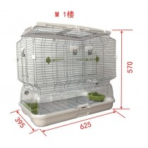 Lilliphut Bird Cage for small birds (M1)