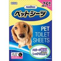 Pamdogs Pet Sheets L 25pcs (1 + 1)