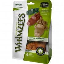 Whimzees All Natural Dog Dental Chews - Alligator Large 6pcs