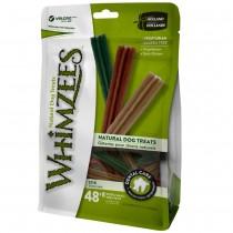 Whimzees All Natural Dog Dental Chews - Stix X-Small 48+8pcs