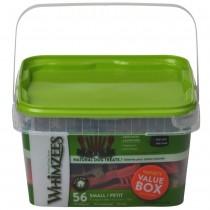 Whimzees All Natural Dog Dental Chews - Variety Value Box Small 56pcs