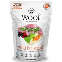 Woof Freeze Dried Raw Dog Food Wild Brushtail - 320g
