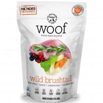 Woof Freeze Dried Raw Dog Food Wild Brushtail' - 1.2kg