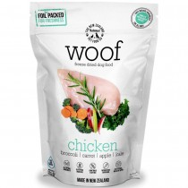 Woof Freeze Dried Raw Dog Food Chicken' - 1.2kg