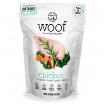 WOOF Freeze Dried Dog Bites Treats Chicken - 50g