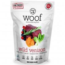 Woof Freeze Dried Raw Dog Food Wild Venison - 280g