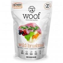 WOOF Freeze Dried Dog Bites Treats Wild Brushtail - 50g