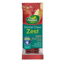 "Happi Doggy Dental Chew Zest 4"" Apple - 25g"